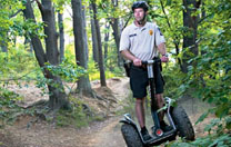 Segway-Parcours